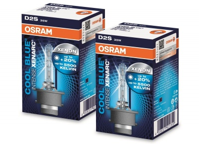 Osram Xenarc Cool Blue Intense D2S  duo pack